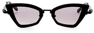 Karen Walker Bad Apple 46MM Triangular Cat Eye Sunglasses