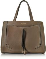 Marc Jacobs Maverick Teak Leather Tote Bag