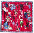christian lacroix silk printed scarf