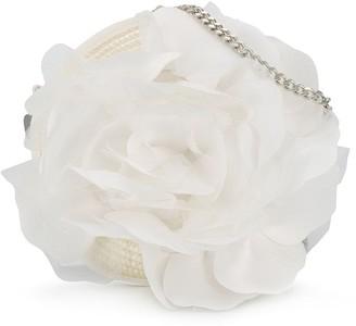 Aletta Tulle Embellished Chain Shoulder Bag