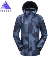 Vector Waterproof Breathable Windproof Camping Hiking Men's Cotton Coat Ski Jacket M
