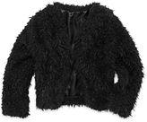 Beautees Faux Fur Jacket - Girls 7-16
