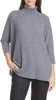 Eileen Fisher Dolman Sleeve Cashmere Sweater