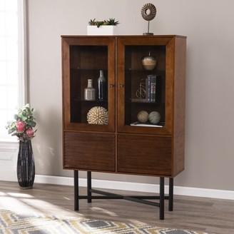Southern Enterprises Vancedale Glass-Door Curio Cabinet
