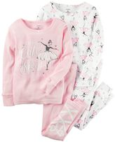 Carter's Toddler Girl Ballerina Pajama Set