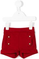 Chloé Kids double button shorts
