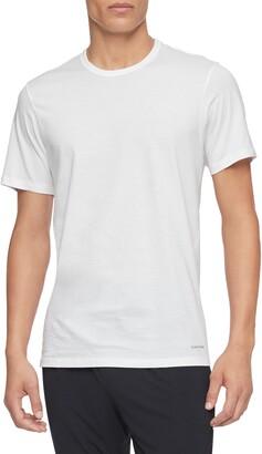 Calvin Klein 3-Pack Slim Fit Cotton Crewneck T-Shirt