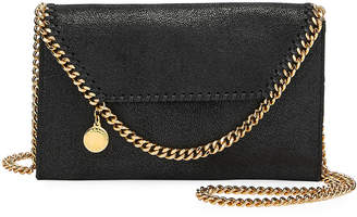 Stella McCartney Falabella Mini Shaggy Deer Crossbody Bag