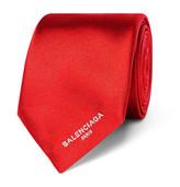 Balenciaga - 6.5cm Silk-satin Tie