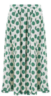 Zimmermann Amari Draw Flare Skirt