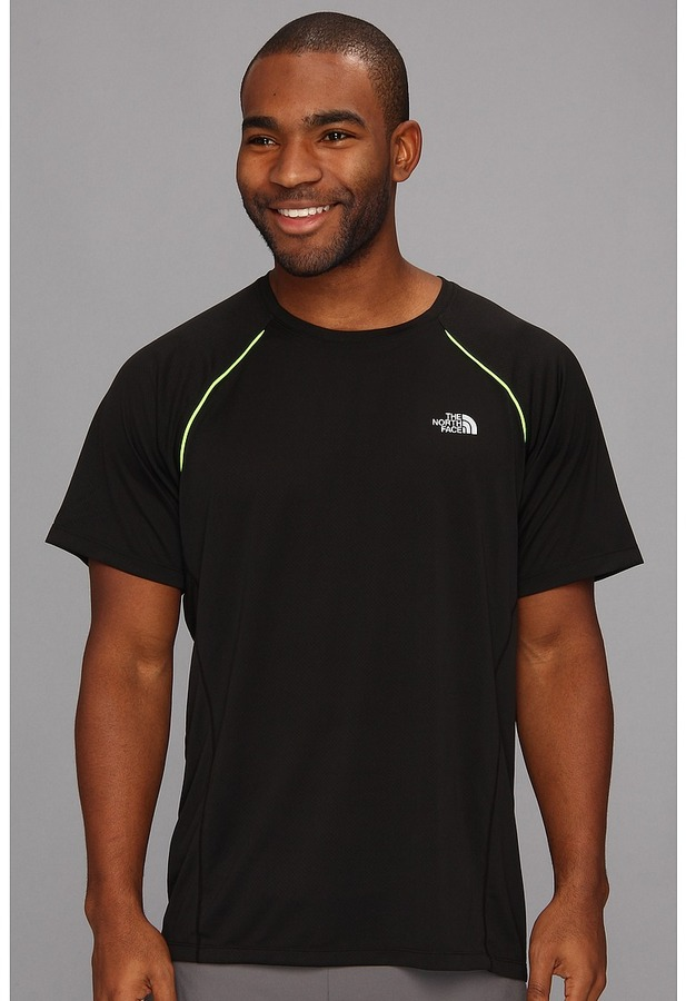The North Face Better Than Naked S/S Shirt (TNF Black/High Rise Grey) - Apparel
