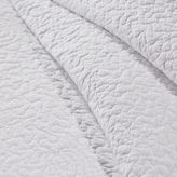 Pier 1 Imports Clare White Scalloped King Quilt