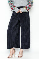 Pinkyotto Textured Wide Leg Pants