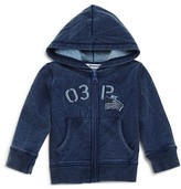3 Pommes Infant Boys' French Terry Hoodie - Sizes 3-24 Months