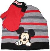 Disney Toddler Mickey Mouse hat and mittens