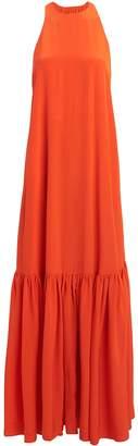 Tibi Silk CDC Crepe Gown