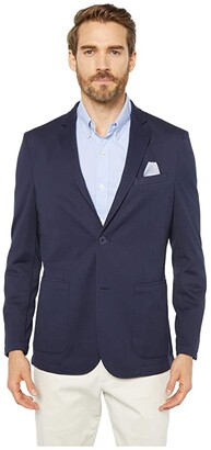 Vince Camuto Performance Mesh Blazer (Navy) Men's Clothing