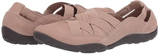 Clarks Haley Rose (Sand Suede) Women's Shoes
