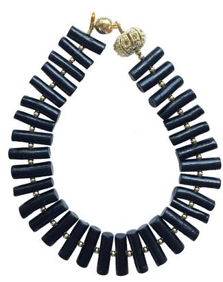 Farra Natural Black Corals Bracelet