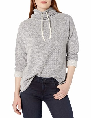 Chaps Women's Petite Pull Over Cowl Neck Long Sleeve Sweater