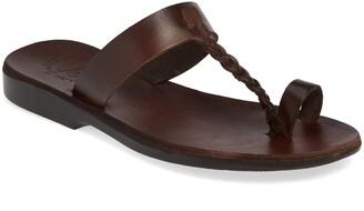 Jerusalem Sandals Ara Toe Loop Slide Sandal