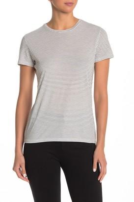 Vince Striped Short Sleeve T-Shirt