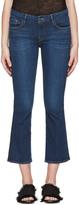 Frame Indigo Crop Mini Boot Jeans