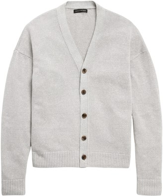 Banana Republic JAPAN EXCLUSIVE Performance Linen Cardigan Sweater