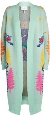 Mira Mikati Jacquard-Embroidered Cardigan