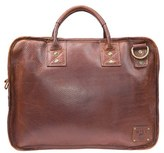 Will Leather Goods Men's 'Hank' Satchel - Brown