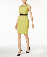 Nine West Piped Sheath Dress