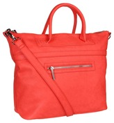 BCBGeneration Quinn Satchel (Flamingo) - Bags and Luggage