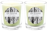 Qualitas Candles Black Currant Beeswax Candles (Set of 2) (6.5 OZ)