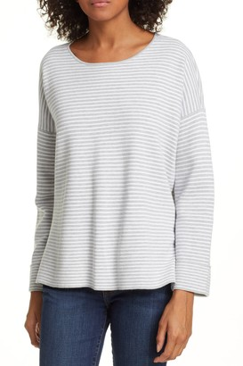 Eileen Fisher Round Neck Boxy Top