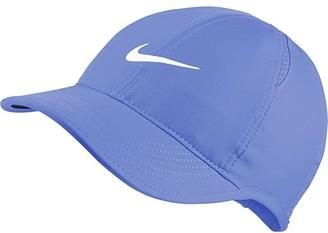 Nike Featherlight Cap - Women's (Royal Pulse/White) Baseball Caps