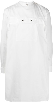 TAKAHIROMIYASHITA TheSoloist. Longline Cotton Shirt
