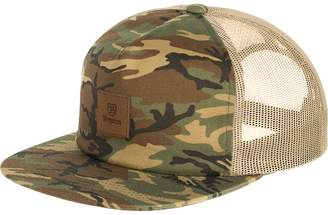 Brixton Main Label MP Mesh Trucker Hat
