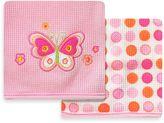 SpaSilk Butterfly 2-Pack Thermal Receiving Blanket