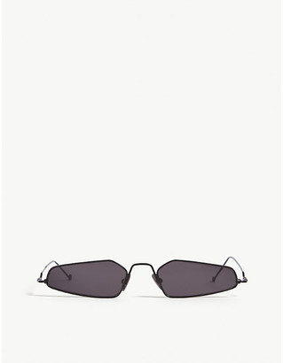Selfridges Irregular-frame sunglasses