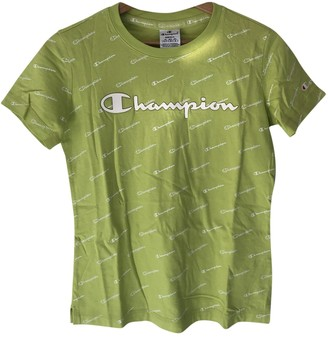 Champion Green Cotton Tops
