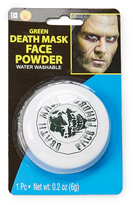 Rubie's Costume Co Death Mask Green Face Powder