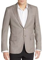 Isaia Regular-Fit Delain Wool Sportcoat