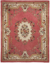 """KM Home Majesty Aubusson Rose 2'6"""" x 8' Runner Rug"""