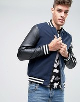 Jack and Jones Baseball Bomber Jacket