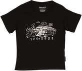 Billabong Tots Boys One Plus One Tube Ss Tee Black