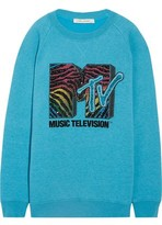 Marc Jacobs Oversized Sequin-Embellished Jersey Sweatshirt