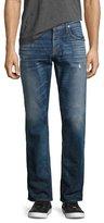 Hudson Byron Classic Straight-Leg Jeans, Blue