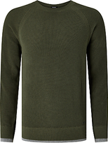 Diesel K-habana Crew Neck Jumper, Forest Night