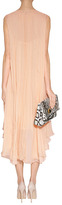 Salvatore Ferragamo Apricot Silk Dress