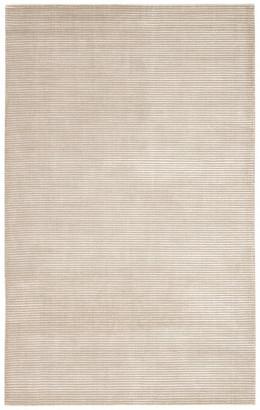 Jaipur Living Basis Handmade Solid Light Gray Area Rug, 8'x10'
